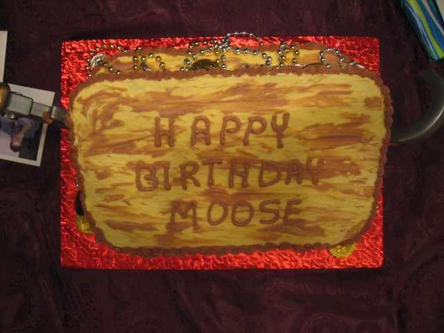 Moose Cake Birthday Roehn