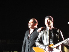 Bono and The Edge Sing as One, U2