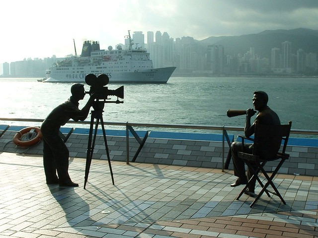 Lights, Camera, Action in Hong Kong
