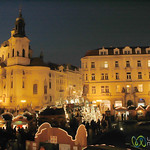 Christmas Market at Old Town Square - Prague, Czech Republic