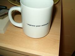 Improve your network mug