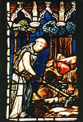 Niederhaslach, Alsace, window