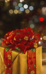 Bokeh and presents
