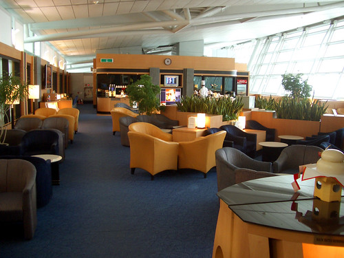 Singapore Airlines Lounge at Seoul-Incheon