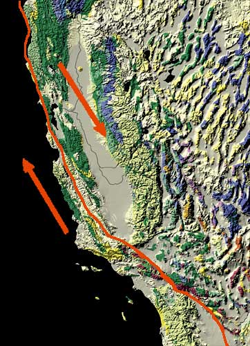 San andreas fault by trudeau