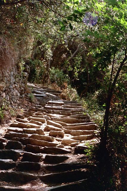 cinque terra stairs