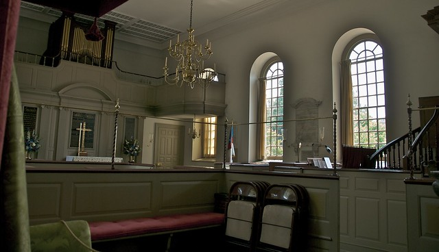 Bruton Parish Church Interior Colonial Williamsburg Flickr Photo