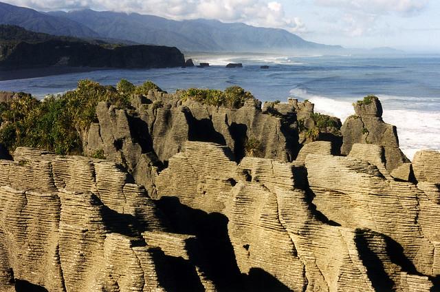 Pancake rocks of Punakaiki