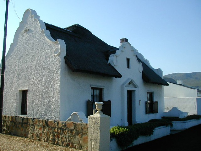Cape Dutch Style House Hermanus Flickr Photo Sharing