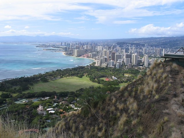 view from diamond head - photo #25