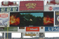 signage, display device, flat panel display, billboard, advertising,