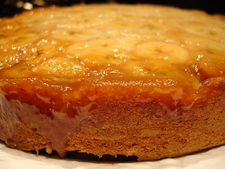 Banana Upside-Down Cake 2