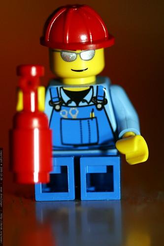 lego trucker figure    MG 3397