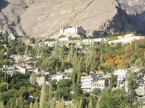 Karimabad, our HQ in the Hunza, and Baltit fort