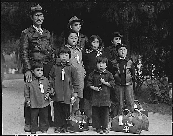 Public Domain: WWII: Japanese-American Internment by Dorothea Lange (NARA) from Flickr via Wylio