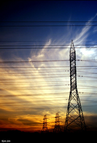 Power sunset