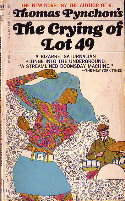 "Book Covers - Thomas Pynchon's ""The Crying of Lot 49"""
