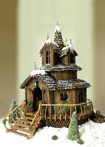 1st Place Gingerbread House 2006 from Lake Mary, FL!