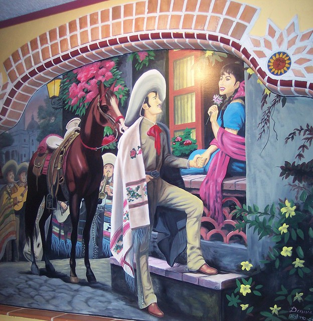 mexican mural night out with a bud november 2006 one of wall murals ideas home design ideas