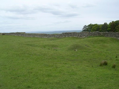 The remains of Milecastle 24