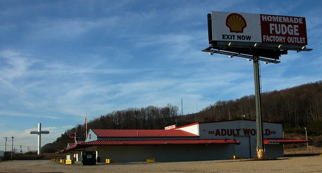 Gas, God, Home-Made Fudge and Adult World.