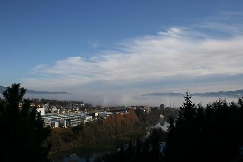 alps fog clouds austria österreich alpen steiermark styria judenburg oesterreich seetal seetaler