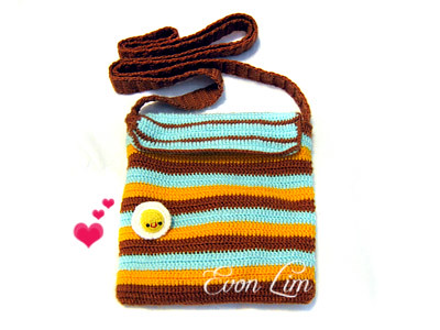 Crochet Sling Bag Pattern : Crochet Sling bag Flickr - Photo Sharing!
