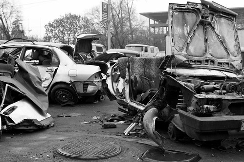 automobile wreck