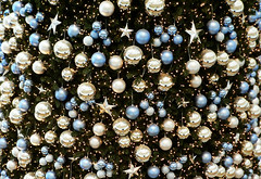 sphere, pearl, macro photography, close-up, blue, bead,