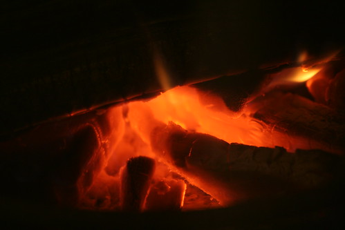 Smouldering fire by Faruk Ateş