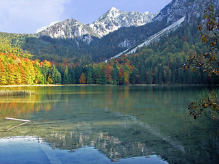 Frillensee - reflections in Oktober