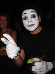 clothing, mime artist, costume,