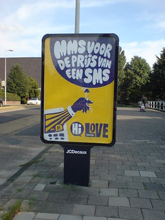 poster in the city of amsterdam