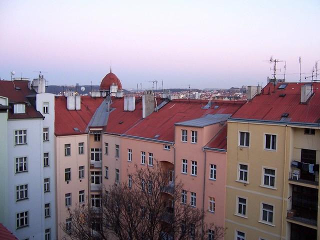 Vinohrady, Prague, April 2005