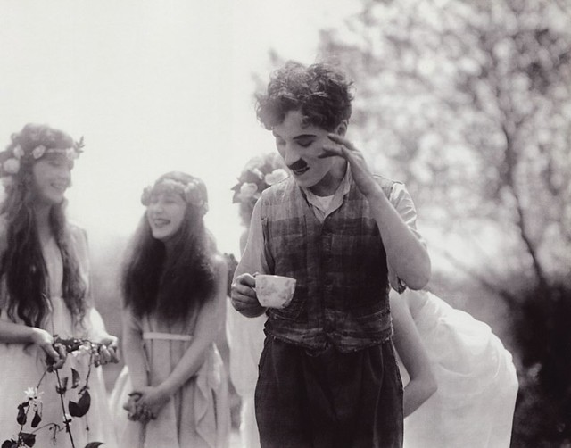 Chaplin teatime
