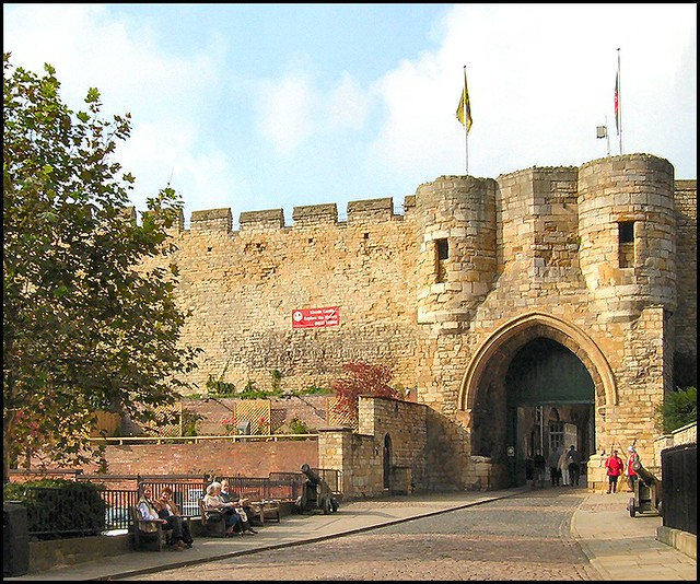 East Gate, Lincoln Castle