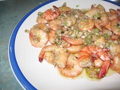 caridean shrimp(0.0), produce(0.0), shrimp(1.0), dendrobranchiata(1.0), seafood(1.0), invertebrate(1.0), food(1.0), scampi(1.0), dish(1.0), cuisine(1.0),