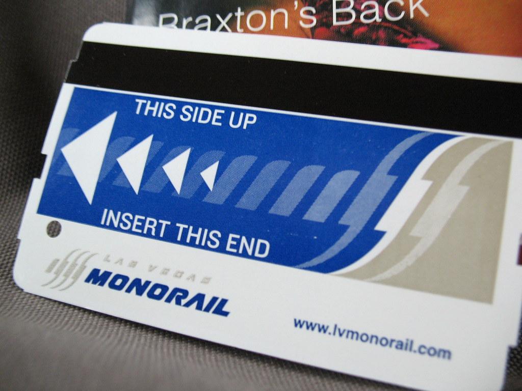 MonoRail車票