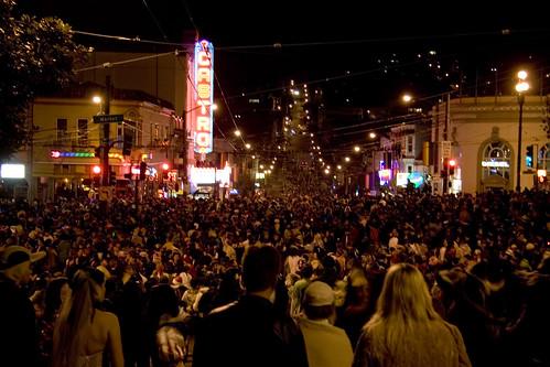 Dennis Yang captures Halloween in the Castro.