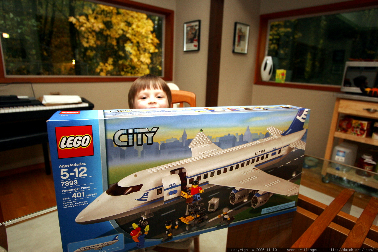 Photo The Lego Box Is So Big The Boy So Small Mg 5165 By