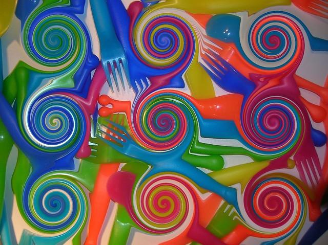 Forks spirals
