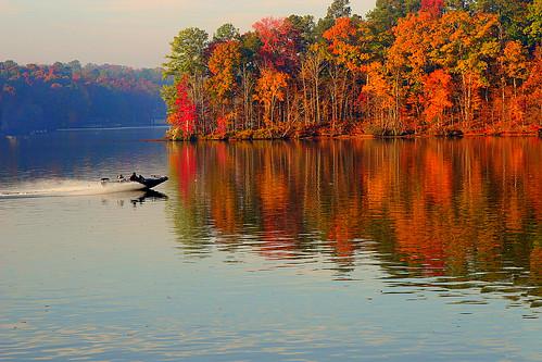 morning lake fall 20d water colors leaves sunrise canon ga georgia boat fishing great sigma 70300 lakesinclair specnature abigfave impressedbeauty janelinton americanw09