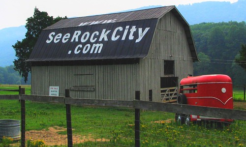 Proof that New Rock City barns get painted.