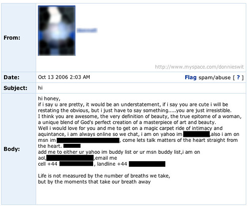 Return of Myspace What Not to Write 16