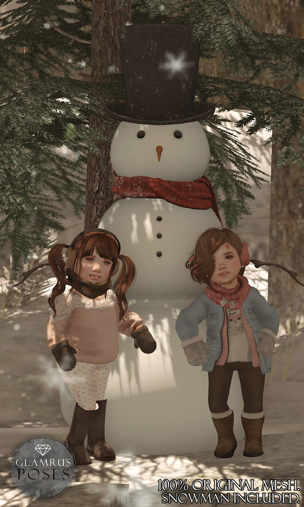 Glamrus Kids . Our Snowman AD - SecondLifeHub.com