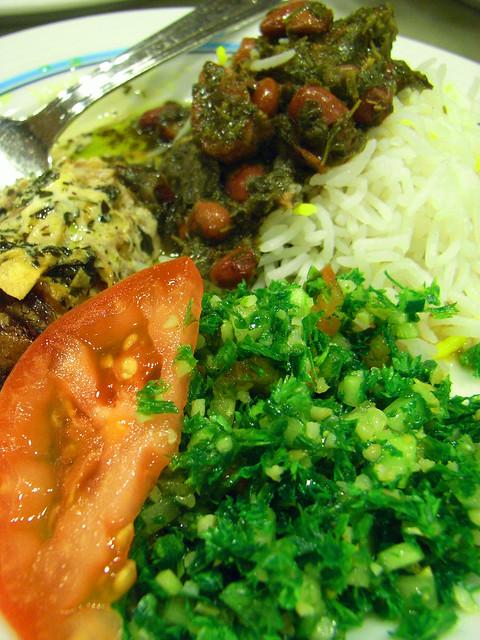 Iranian dinner for Anissa helou lebanese cuisine