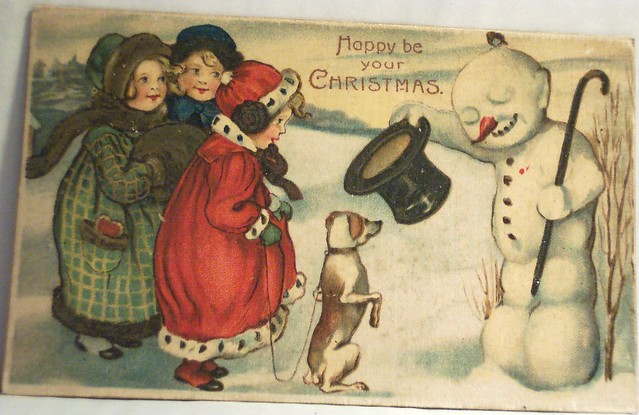 vintage Christmas postcards - a gallery on Flickr