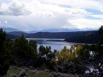 colorado reservoir ridgway