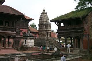 Old monuments and buildings, Kathmandu, Nepal
