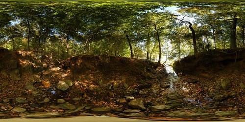 panorama heritage creek forest river geotagged pano 360 sphere savannah preserve equirectangular geolon82004747 geolat3352408